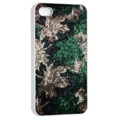 African Sequince Apple Iphone 4/4s Seamless Case (white)