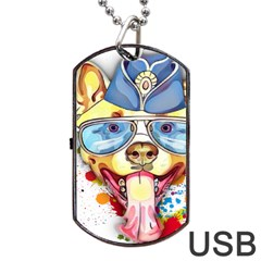 Pit Bulls Are Beautiful Dog Tag Usb Flash (one Side)