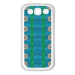 Wood Silver And Rainbows Samsung Galaxy S3 Back Case (white)