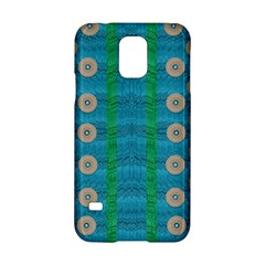 Wood Silver And Rainbows Samsung Galaxy S5 Hardshell Case