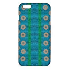 Wood Silver And Rainbows Iphone 6 Plus/6s Plus Tpu Case