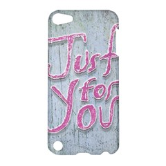 Letters Quotes Grunge Style Design Apple Ipod Touch 5 Hardshell Case