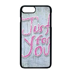 Letters Quotes Grunge Style Design Apple Iphone 7 Plus Seamless Case (black)