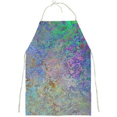 Colorful Pattern Blue And Purple Colormix Full Print Aprons