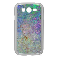 Colorful Pattern Blue And Purple Colormix Samsung Galaxy Grand Duos I9082 Case (white)