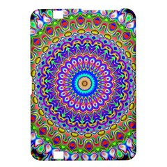 Colorful Purple Green Mandala Pattern Kindle Fire Hd 8 9