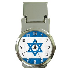 Israel Money Clip With Watch