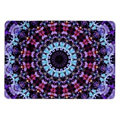 Kaleidoscope Mandala Purple Pattern Art Samsung Galaxy Tab 10 1  P7500 Flip Case