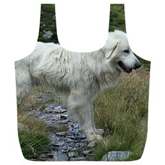 Great Pyrenees Full Full Print Recycle Bags (l)