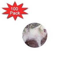 Great Pyrenees In Forest 1  Mini Magnets (100 Pack)