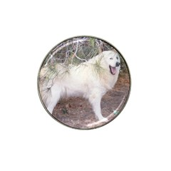 Great Pyrenees In Forest Hat Clip Ball Marker (10 Pack)