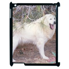 Great Pyrenees In Forest Apple Ipad 2 Case (black)