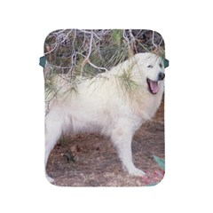 Great Pyrenees In Forest Apple Ipad 2/3/4 Protective Soft Cases