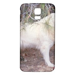 Great Pyrenees In Forest Samsung Galaxy S5 Back Case (white)