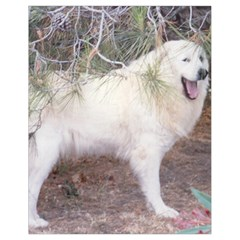 Great Pyrenees In Forest Drawstring Bag (small)