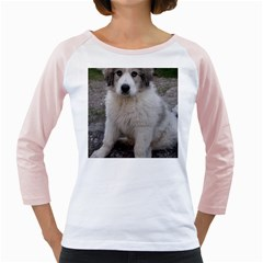 Great Pyrenees Puppy Girly Raglans