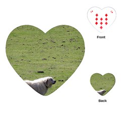 Great Pyrenees Working Playing Cards (heart)