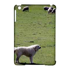 Great Pyrenees Working Apple Ipad Mini Hardshell Case (compatible With Smart Cover)
