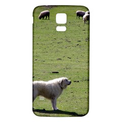 Great Pyrenees Working Samsung Galaxy S5 Back Case (white)