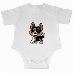 Cardigan Welsh Corgi Cartoon Infant Creepers