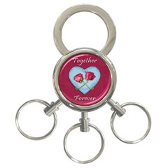 Love Concept Design 3 Ring Key Chains