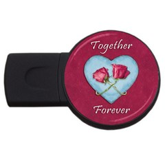 Love Concept Design Usb Flash Drive Round (2 Gb)