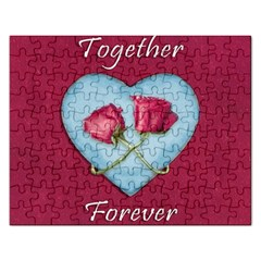 Love Concept Design Rectangular Jigsaw Puzzl