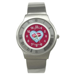 Love Concept Design Stainless Steel Watch