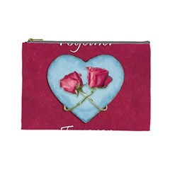 Love Concept Design Cosmetic Bag (large)