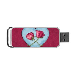 Love Concept Design Portable Usb Flash (two Sides)