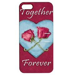 Love Concept Design Apple Iphone 5 Hardshell Case With Stand