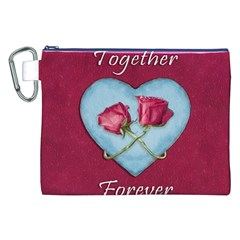 Love Concept Design Canvas Cosmetic Bag (xxl)