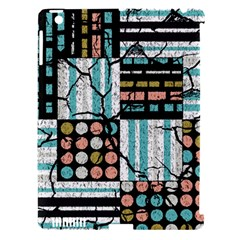 Distressed Pattern Apple Ipad 3/4 Hardshell Case (compatible With Smart Cover)