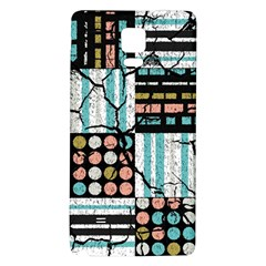 Distressed Pattern Galaxy Note 4 Back Case