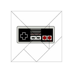 Video Game Controller 80s Acrylic Tangram Puzzle (4  X 4 )
