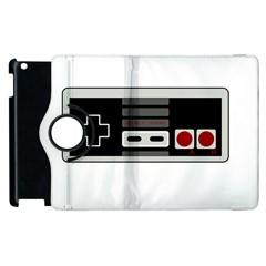 Video Game Controller 80s Apple Ipad 3/4 Flip 360 Case