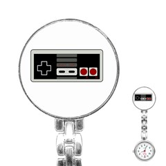 Video Game Controller 80s Stainless Steel Nurses Watch