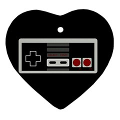 Video Game Controller 80s Ornament (heart)