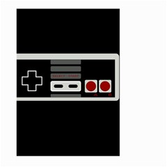 Video Game Controller 80s Large Garden Flag (two Sides)