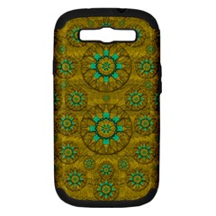 Sunshine And Flowers In Life Pop Art Samsung Galaxy S Iii Hardshell Case (pc+silicone)