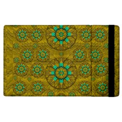 Sunshine And Flowers In Life Pop Art Apple Ipad 2 Flip Case
