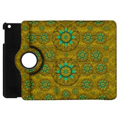 Sunshine And Flowers In Life Pop Art Apple Ipad Mini Flip 360 Case
