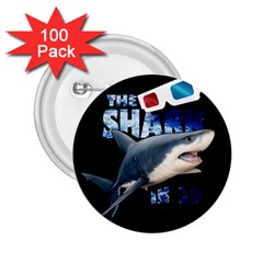 The Shark Movie 2 25  Buttons (100 Pack)