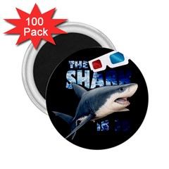 The Shark Movie 2 25  Magnets (100 Pack)