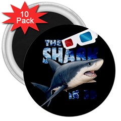 The Shark Movie 3  Magnets (10 Pack)