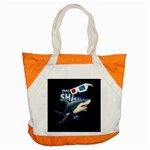 The Shark Movie Accent Tote Bag Front