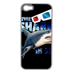 The Shark Movie Apple Iphone 5 Case (silver)