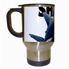 The Shark Movie Travel Mugs (white)