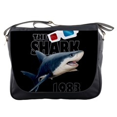 The Shark Movie Messenger Bags