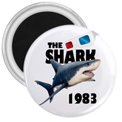 The Shark Movie 3  Magnets